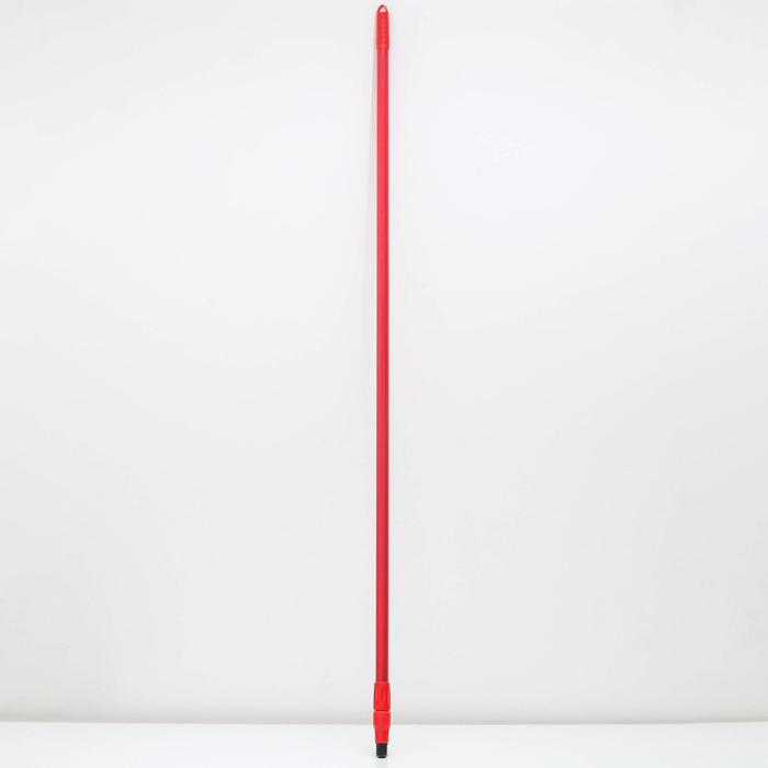 Черенок металлический, телескопический 137-210 см, цвет МИКС