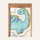 Подушка  «Динозавр», набор для шитья 21 х 34 см - фото 691789