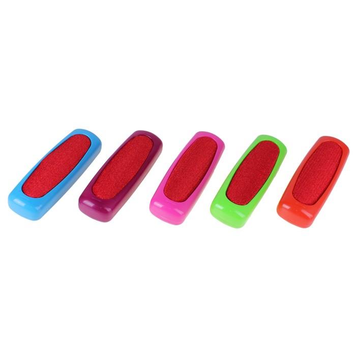 Щетка для одежды 2-х сторонняя, цвета МИКС
