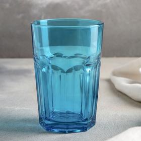 The glass ENJOY BLUE 355 ml