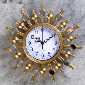 """Часы настенные, серия: Интерьер, """"Аврианш"""", 25х25 см, микс в Донецке"""