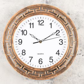 """Часы настенные, серия: Классика, """"Пилонес"""", d=36 см"""