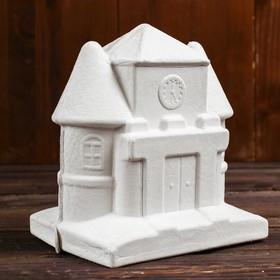 Основа для творчества и декорирования копилка «Дом с часами»