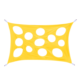 """Развлекательная игра """"Сыр-паутинка"""", размер 100 × 150 см, цвет жёлтый"""