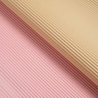 Paper corrugated beige pink 50 cm x 66 cm 4344256