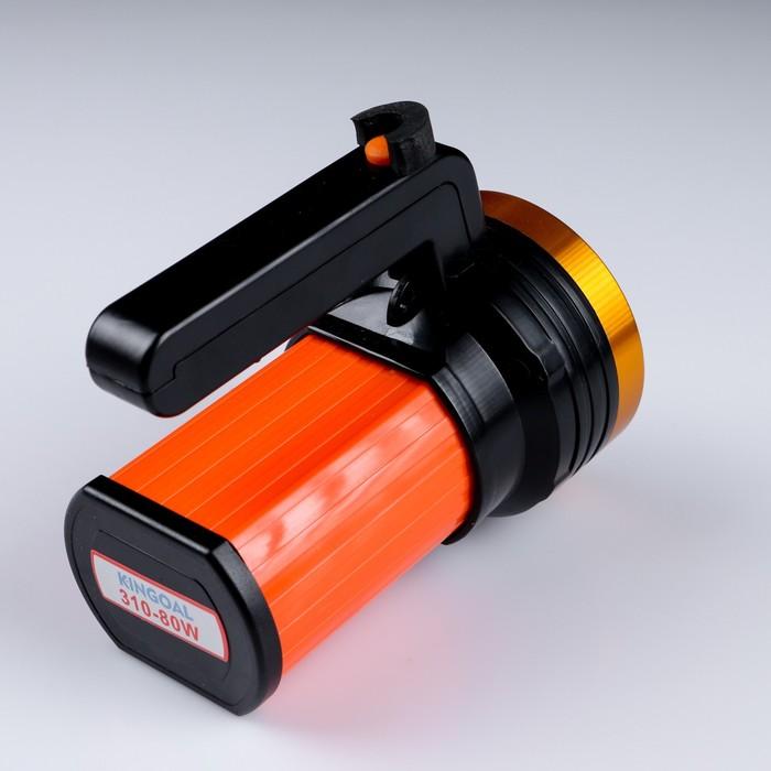 Фонарь переносной аккумуляторный 5 Вт, OSL, 360 лм, 3 режима, от сети, 14х8х12 см микс