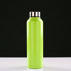 Фляга для воды туристическая, 750 мл, 7х24 см, микс