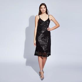 """Платье женское MINAKU """"Caroline"""", размер 42, цвет чёрный"""