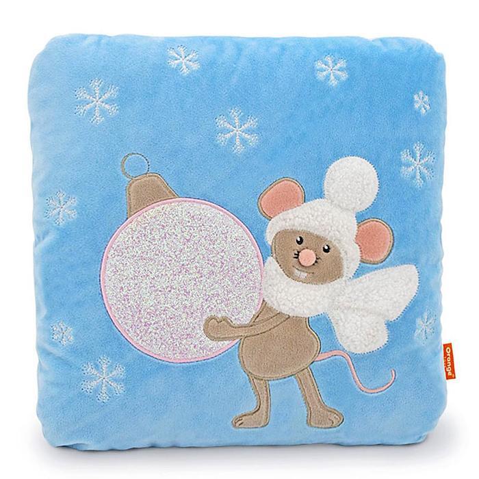 Мягкая игрушка-подушка «Мышка: Волшебство», 35 см