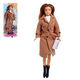 Кукла «Лиза» в пальто, МИКС