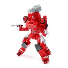 Робот «Пожарный», трансформируется, с металлическими элементами - фото 105504512