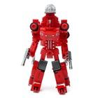Робот «Пожарный», трансформируется, с металлическими элементами - фото 105504513