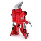 Робот «Пожарный», трансформируется, с металлическими элементами - фото 105504514