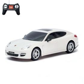 Машина радиоуправляемая Porsche Panamera turbo S, 1:24, работает от батареек, световые эффекты, цвет белый