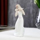 "Сувенир керамика ""Девушка-ангел с флейтой"" 15х7,5х5,5 см"