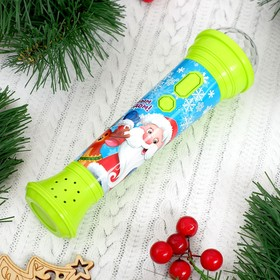 "ZABIAKA microphone new year ""happy new year"" light, sound, green, IN PACKAGE"