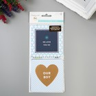 Набор Instagram карточек PROJECT LIFE «Baby Boy»  12 шт