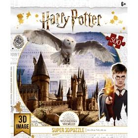 """3D Puzzle 500 El. """"Hogwarts and BuCl"""" 32513"""