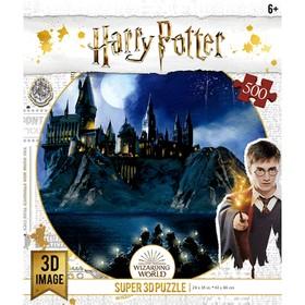 """3D Puzzle 500 El. """"Hogwarts"""" 32515"""