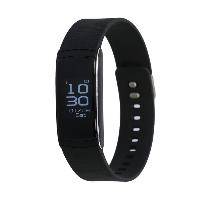 """Фитнес браслет iWOWN i6Pro, 0.96"""", IP67, цветной дисплей, оповещения, чёрный"""