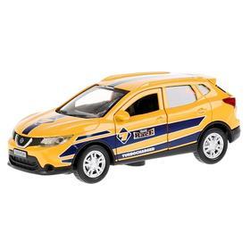 Inertial metal car Nissan Qashqai Sport, 12 cm, doors open