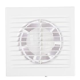 Вентилятор вытяжной РВС Сириус 100, d=100 мм, цвет белый