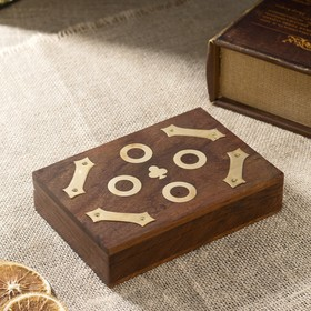 "Сувенирный набор ""Две колоды карт"" 16х11,5х3,5 см"