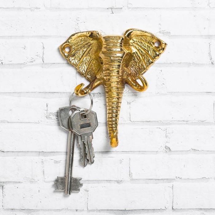 "Ключница ""Слон"", 8,8 х 10 см"