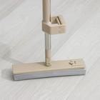 Швабра PVA с вертикальным отжимом, стальной черенок 31,5х5,5 см - фото 4646922