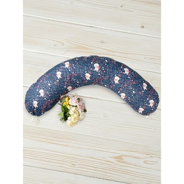 Подушка для беременных, размер 25 × 170 см, принт лисички