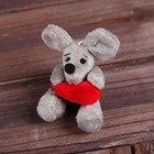 """Soft toy-suspension """"little mouse with a heart in paws"""" types MIX R-14707AB"""