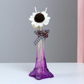 "Gift set ""Eiffel tower""(2 sticks, 3 candle ,decor,essential oils 30 ml), lavender 8M"