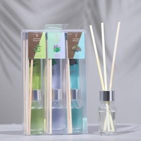 Диффузор Queen Fair 10мл 'Микс ароматов №2' (розмарин, мята, сосна), цена за 1шт Ош