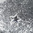Ткань для пэчворка декоративная кожа с крупными блестками «Лунный блеск»,18 х 0,3 х 23 см