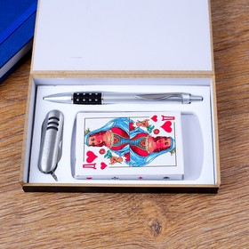 3in1 gift set (pen, card, knife 3in1)