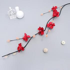 "Decor branch ""Flower knobs"" 150 cm (packing 5 PCs, price is for 1pc) mix"