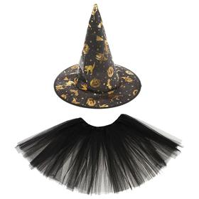 "A set of ""Witch"", skirt, hat"
