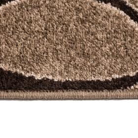 Ковёр Фризе Эспрессо, 60х110 см - фото 7460118