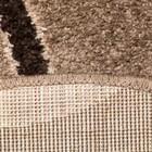 Ковёр Фризе Эспрессо, 60х110 см - фото 7460119