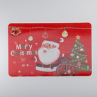 "Napkin kitchen Real 3D ""Christmas Santa"" 45х40 cm"