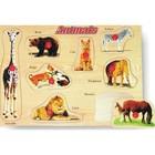 Модель деревянная сборная «Животные»