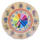 Модель деревянная сборная «Часы-радуга»