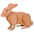 Модель деревянная сборная «Кролик»