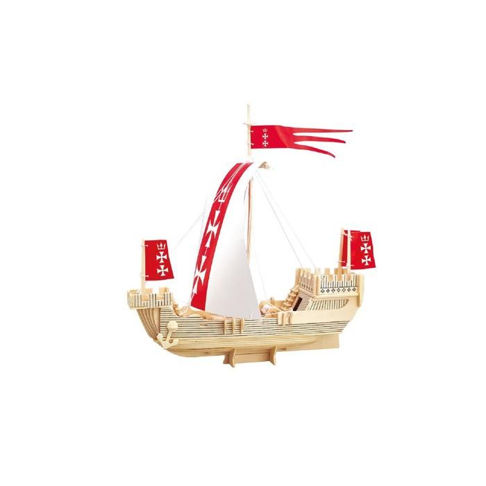 Модель деревянная сборная «Ганзейский парусник»