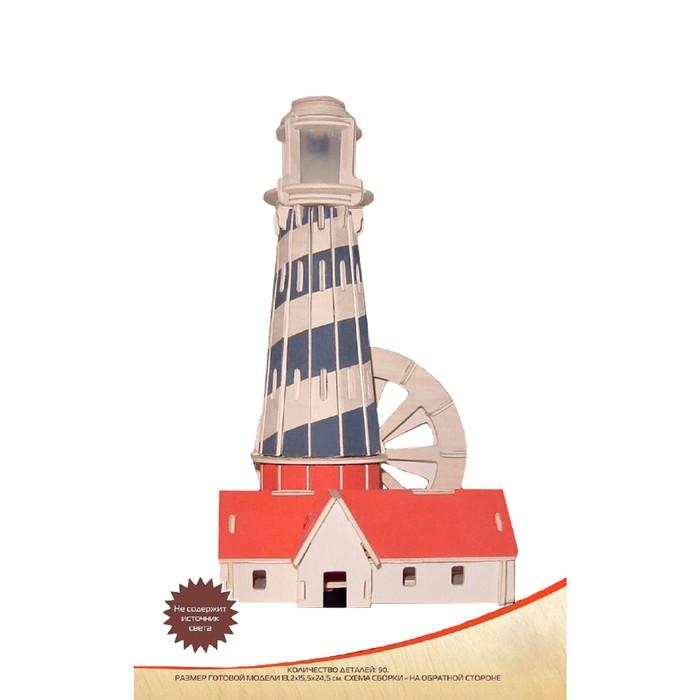 Модель деревянная сборная «Маяк №1»