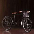 """Souvenir metal """"Bicycle"""" 47х11х25 cm"""