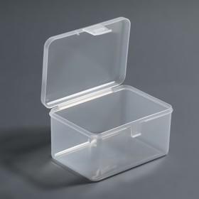 Container d/storage is broken o 12*9*6,5 cm transparent