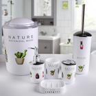 """Набор аксессуаров для ванной комнаты, 6 предметов """"Природа"""""""