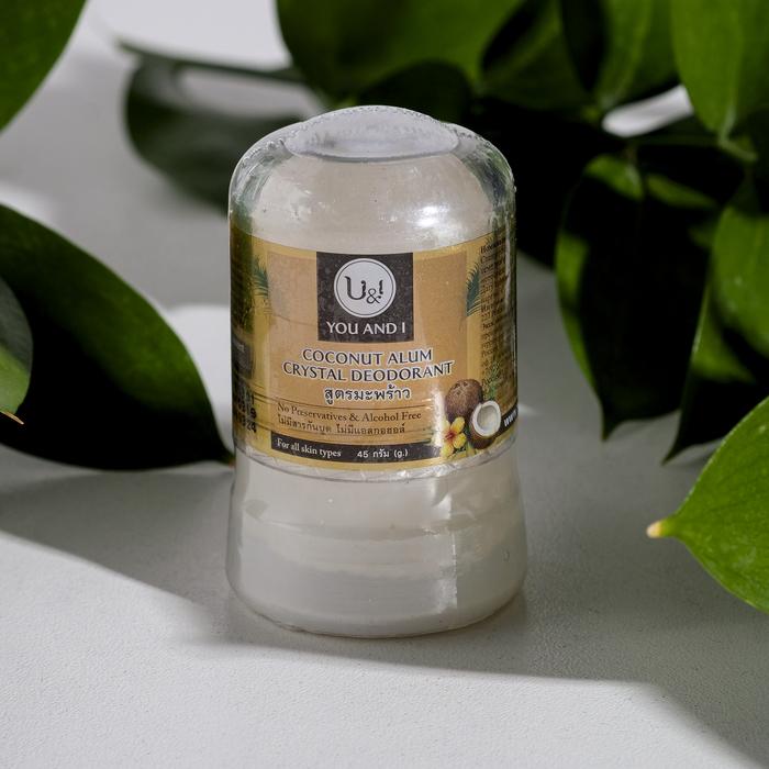Дезодорант кристаллический U&I кокосовый, 45 г