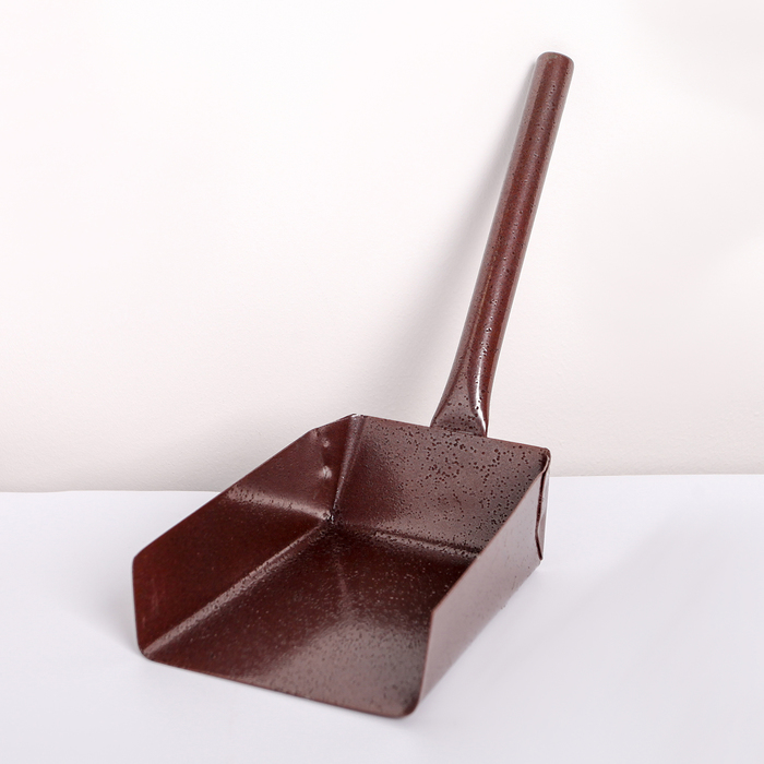 Совок для золы с длинной ручкой, 17×10×25 см